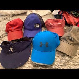 Lot of hats for men